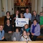 Tientjes Breda wint de Pluim van De Bond Zonder Naam van Cordaid